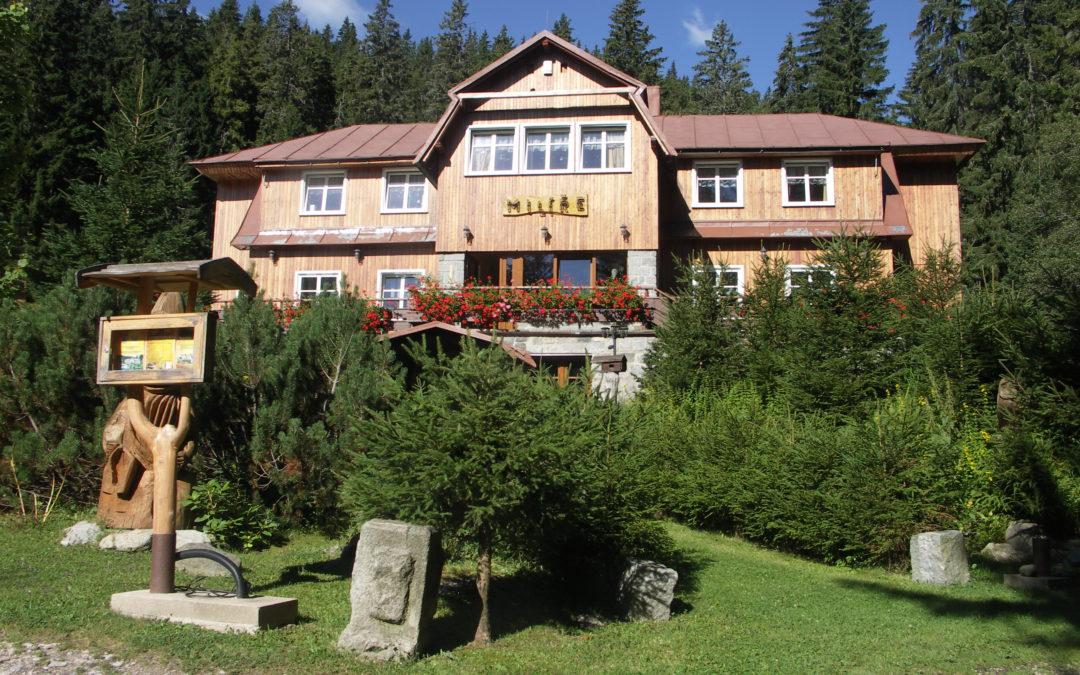 Letní tábor chata Milíře
